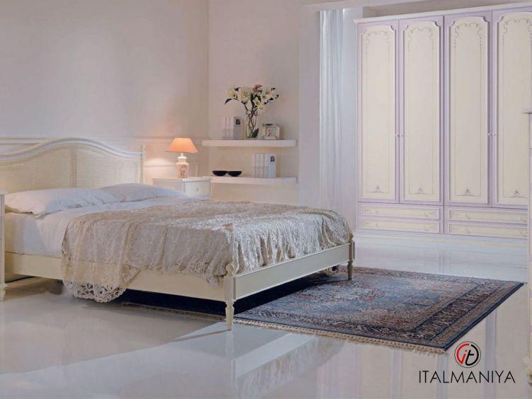 Фото 1 - Спальня Sara lilla фабрики Pellegatta (производство Италия) в стиле прованс из массива дерева