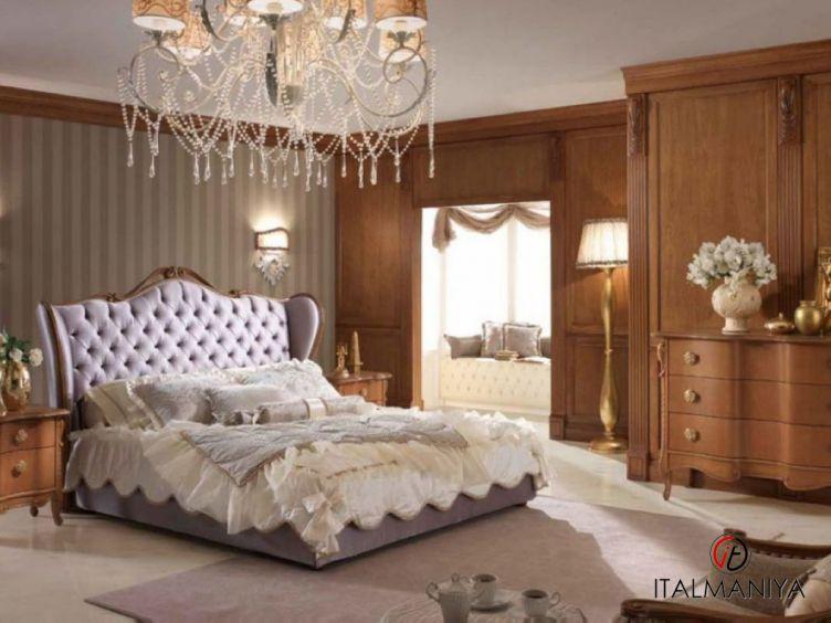Фото 1 - Спальня Silver фабрики Piermaria (производство Италия) в стиле арт-деко из массива дерева