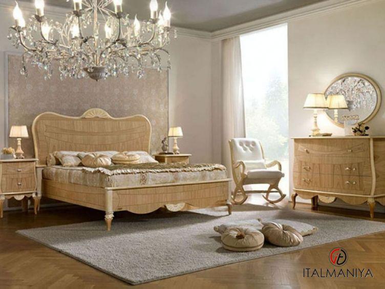 Фото 1 - Спальня Boreale фабрики Pistolesi (производство Италия) в классическом стиле из массива дерева
