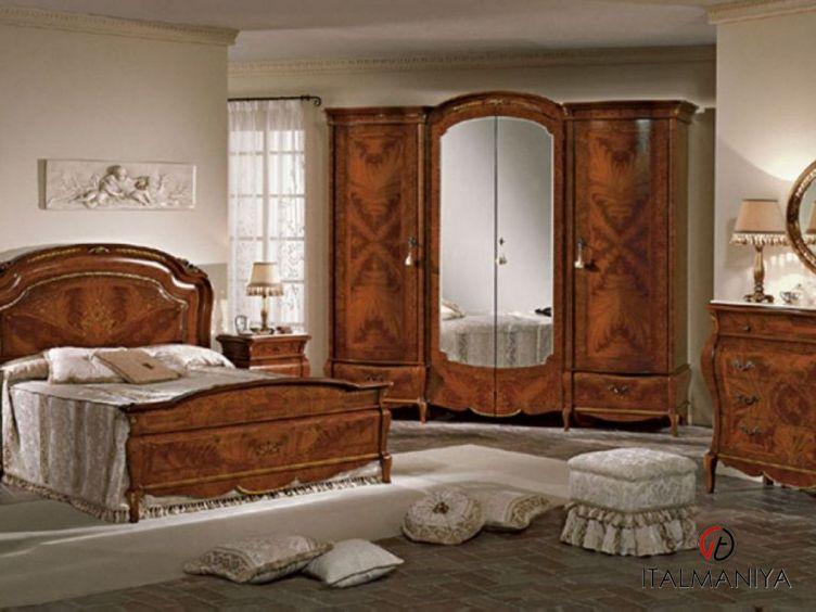 Фото 1 - Спальня Isabel фабрики Pistolesi (производство Италия) в классическом стиле из массива дерева