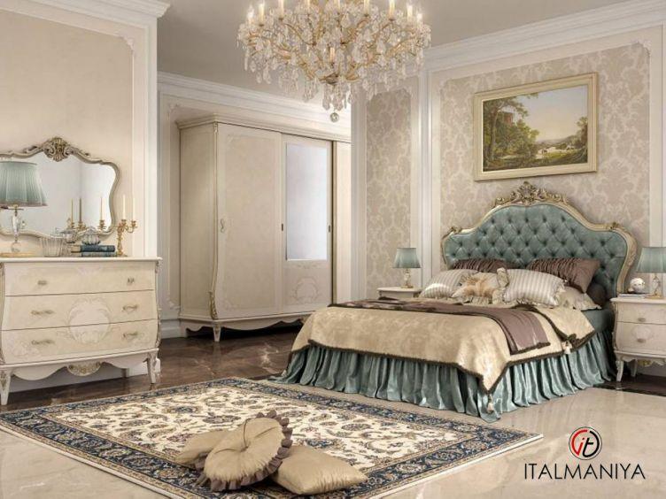 Фото 1 - Спальня Jasmine фабрики Pistolesi (производство Италия) в классическом стиле из массива дерева