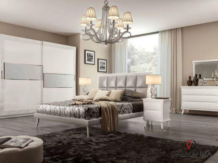 Фото 1 - Спальня Novecento фабрики Pistolesi (производство Италия) в современном стиле из массива дерева