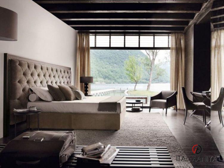 Фото 1 - Спальня Enya фабрики Porada (производство Италия) в современном стиле из массива дерева