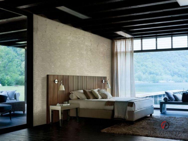 Фото 1 - Спальня Pentagramma фабрики Porada (производство Италия) в современном стиле из массива дерева