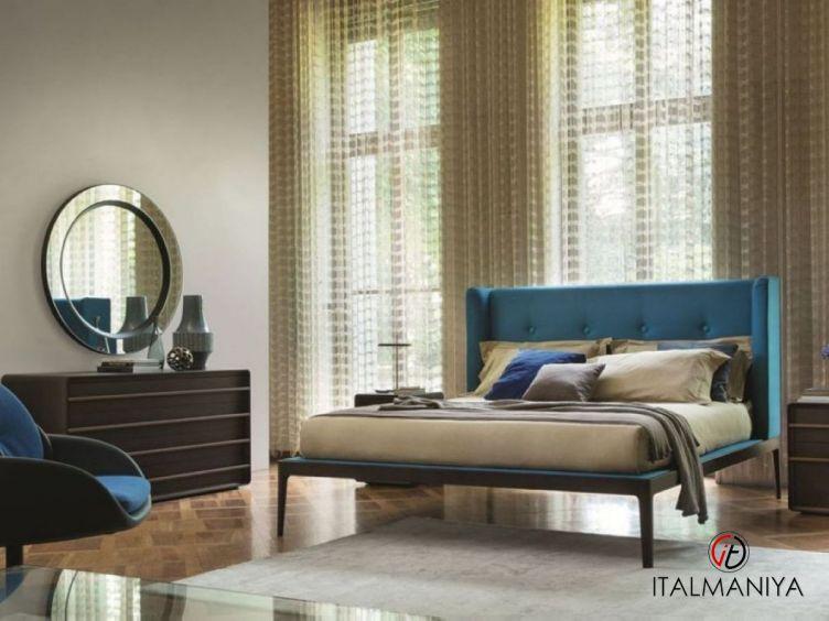 Фото 1 - Спальня Ziggy фабрики Porada (производство Италия) в современном стиле из массива дерева