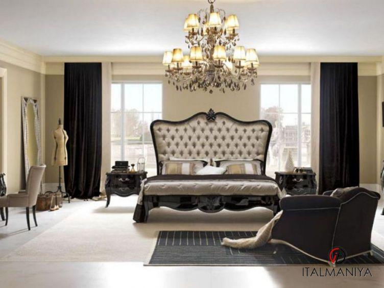 Фото 1 - Спальня Byblos фабрики Pregno (производство Италия) в стиле арт-деко из массива дерева