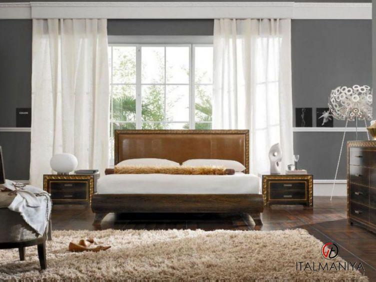 Фото 1 - Спальня Korinthos фабрики Pregno (производство Италия) в современном стиле из массива дерева