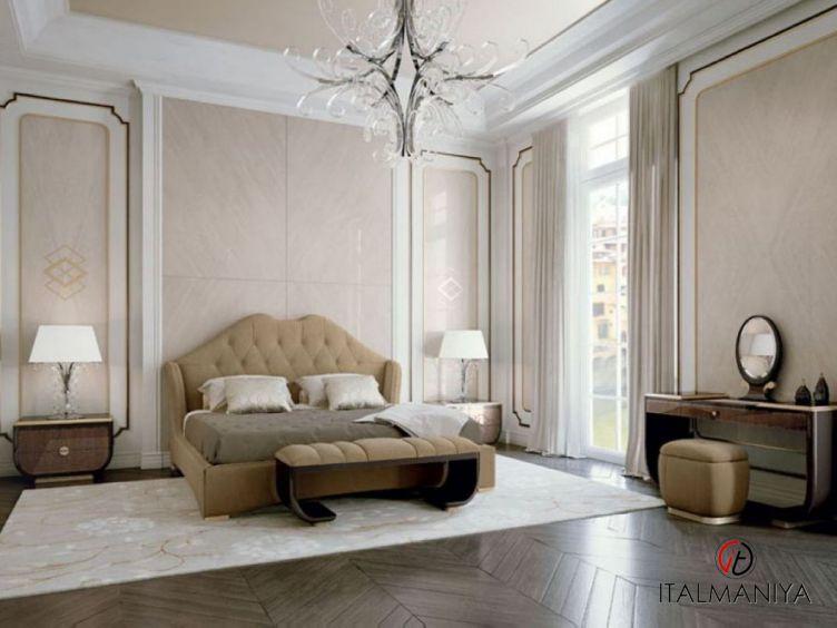Фото 1 - Спальня Riverside фабрики Pregno (производство Италия) в современном стиле из массива дерева