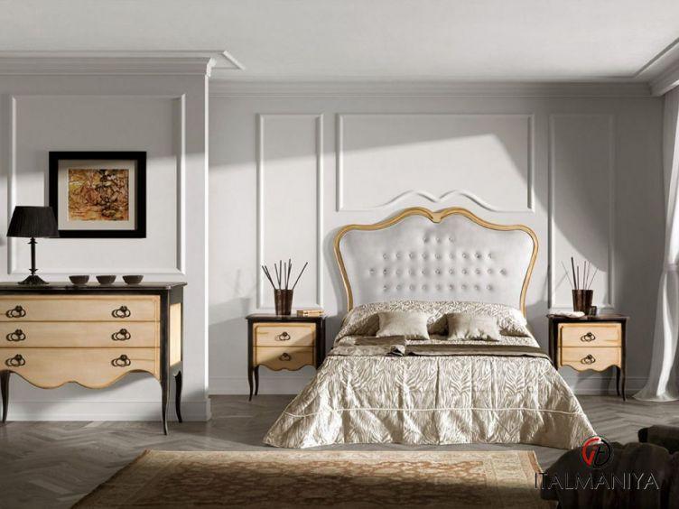 Фото 1 - Спальня Capricci фабрики Prestige (производство Италия) в стиле арт-деко из массива дерева