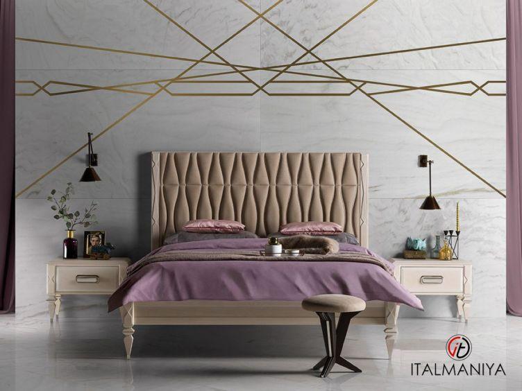 Фото 1 - Спальня Gran duca фабрики Prestige (производство Италия) в стиле арт-деко из массива дерева