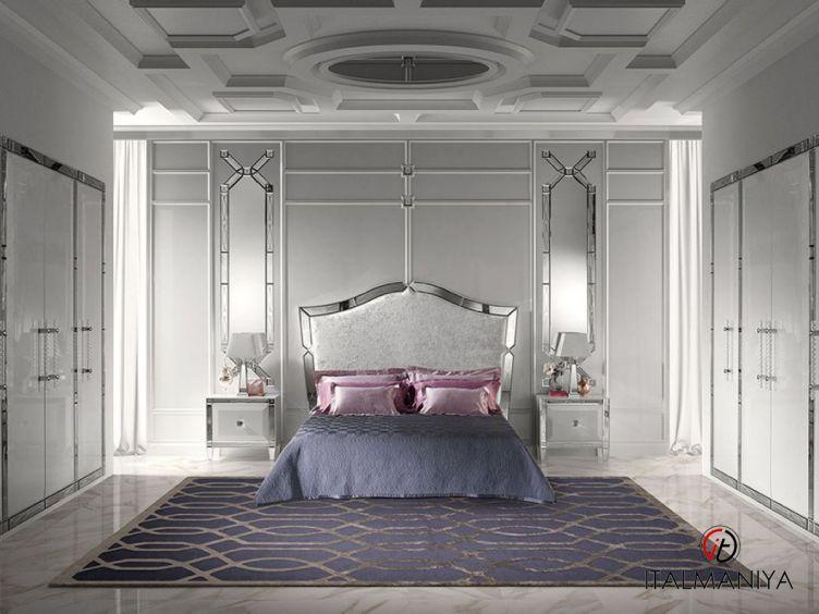Фото 1 - Спальня Gran duca CVL020 фабрики Prestige (производство Италия) в стиле арт-деко из массива дерева