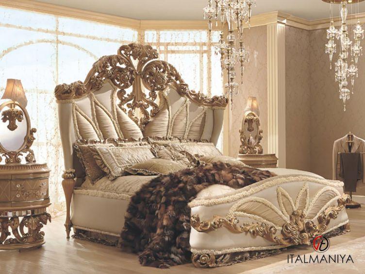 Фото 1 - Спальня Balbianello фабрики Riva (производство Италия) в классическом стиле из массива дерева