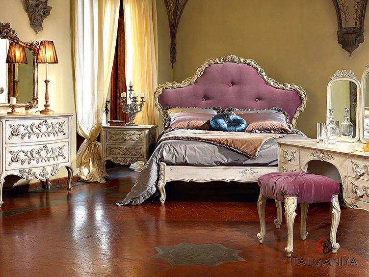 Фото 1 - Спальня Florellacci фабрики Roberto Giovannini (производство Италия) в классическом стиле из массива дерева