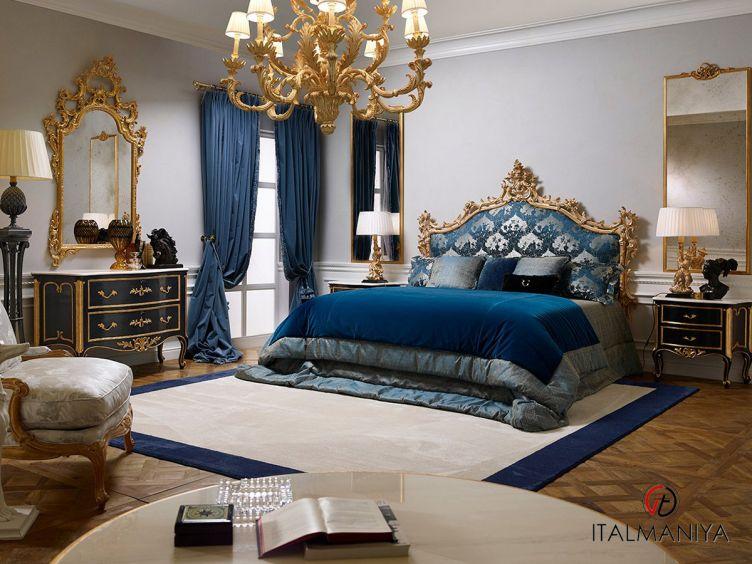 Фото 1 - Спальня Heritage фабрики Roberto Giovannini (производство Италия) в классическом стиле из массива дерева