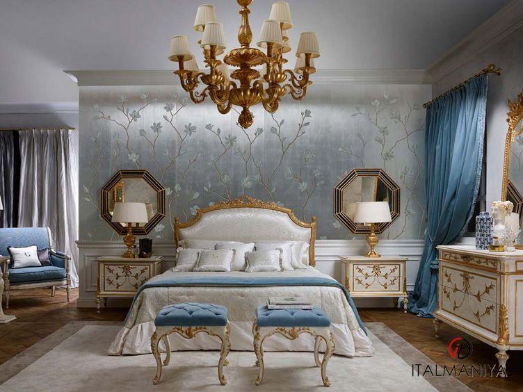 Фото 1 - Спальня Prestige фабрики Roberto Giovannini (производство Италия) в классическом стиле из массива дерева