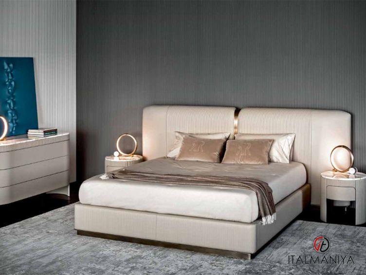 Фото 1 - Спальня Vogue фабрики Rugiano (производство Италия) в современном стиле из металла