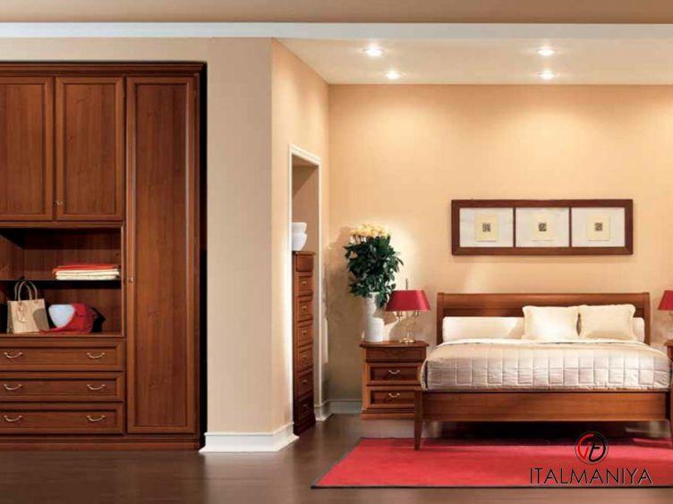 Фото 1 - Спальня Pitti фабрики San Michele (производство Италия) в классическом стиле из массива дерева