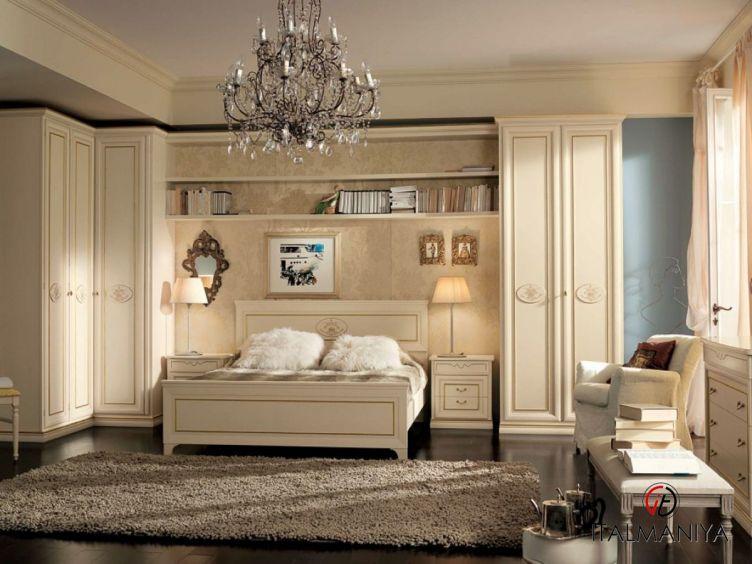 Фото 1 - Спальня PittiCharme фабрики San Michele (производство Италия) в стиле прованс из массива дерева