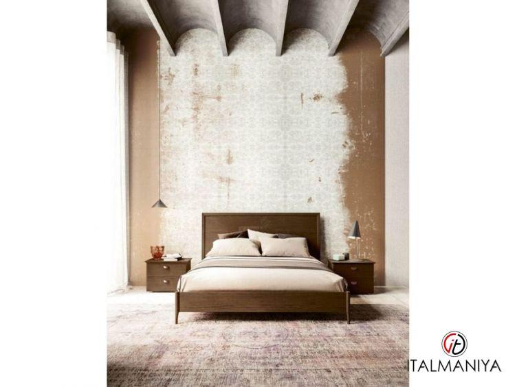 Фото 1 - Спальня Teti/Operadi фабрики San Michele (производство Италия) в современном стиле из массива дерева бежевые
