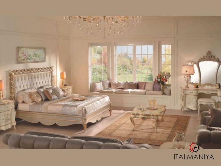 Фото 1 - Спальня 2038 фабрики Scappini (производство Италия) в классическом стиле из массива дерева