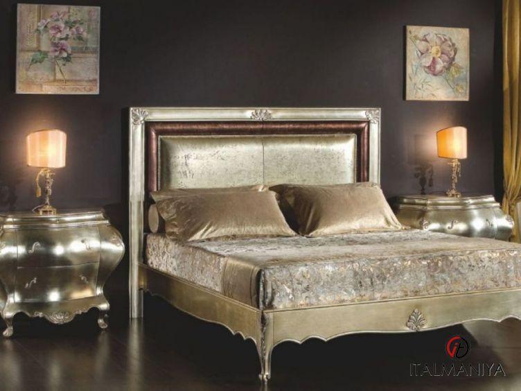 Фото 1 - Спальня 2080-2084 фабрики Scappini (производство Италия) в классическом стиле из массива дерева