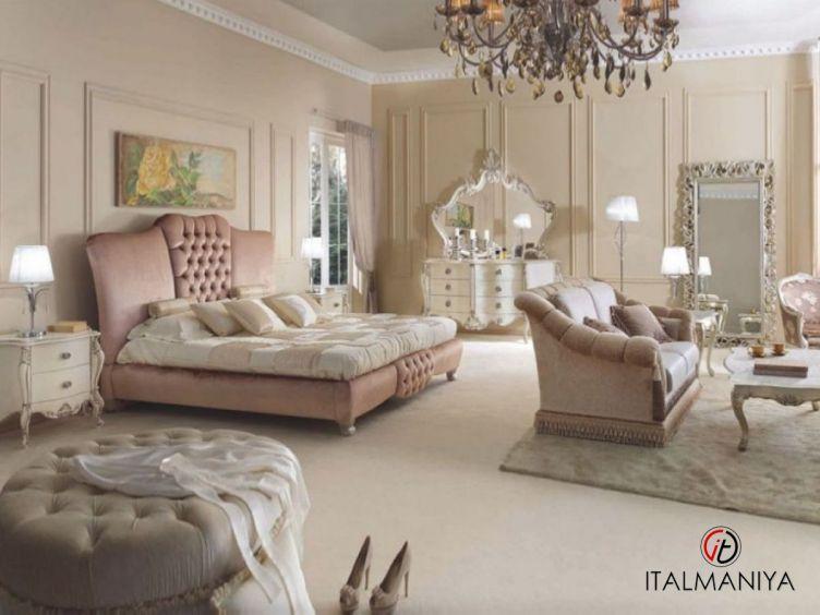 Фото 1 - Спальня 2570 фабрики Scappini (производство Италия) в классическом стиле из массива дерева