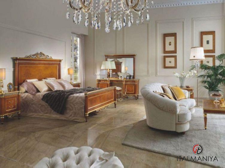 Фото 1 - Спальня 2740 фабрики Scappini (производство Италия) в классическом стиле из массива дерева