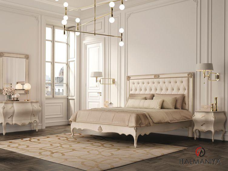 Фото 1 - Спальня Timeless фабрики Scappini (производство Италия) в классическом стиле из массива дерева