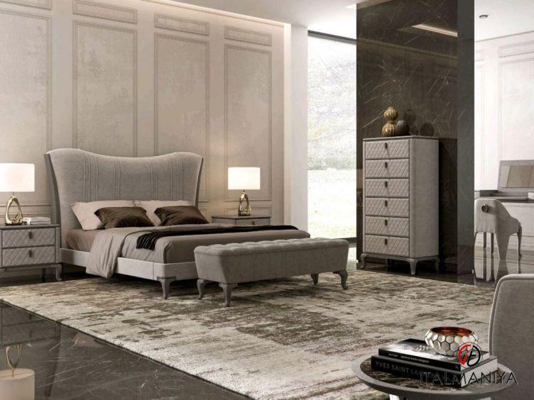 Фото 1 - Спальня Blues фабрики Signorini & Coco (производство Италия) в современном стиле из массива дерева