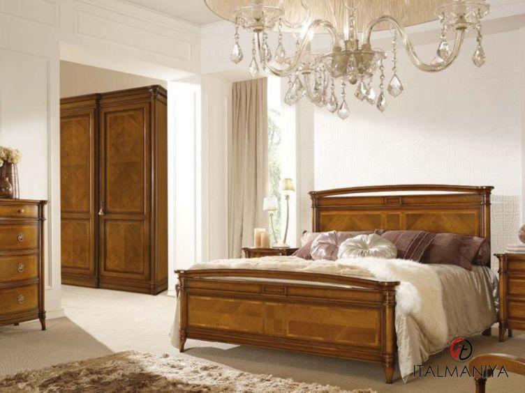 Фото 1 - Спальня Carlotta фабрики Signorini & Coco (производство Италия) в классическом стиле из массива дерева