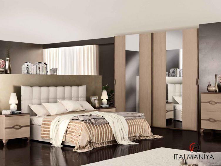Фото 1 - Спальня Ninfea фабрики Signorini & Coco (производство Италия) в современном стиле из массива дерева