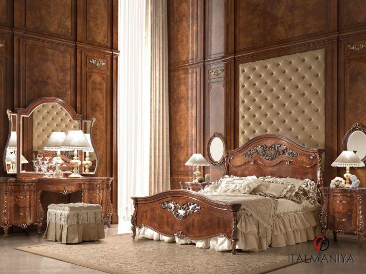 Фото 1 - Спальня Portofino фабрики Signorini & Coco (производство Италия) в классическом стиле из массива дерева