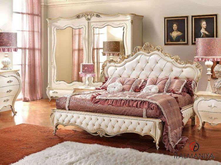 Фото 1 - Спальня Romantica фабрики Signorini & Coco (производство Италия) в классическом стиле из массива дерева