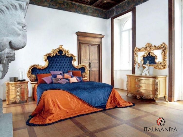 Фото 1 - Спальня Aura фабрики Silik (производство Италия) в классическом стиле из массива дерева