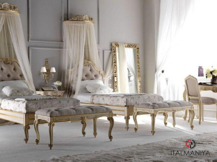 Фото 1 - Спальня Art 2428 фабрики Silvano Grifoni (производство Италия) в классическом стиле из массива дерева