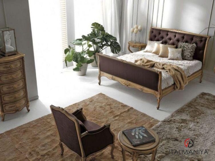 Фото 1 - Спальня Art 2446 фабрики Silvano Grifoni (производство Италия) в классическом стиле из массива дерева