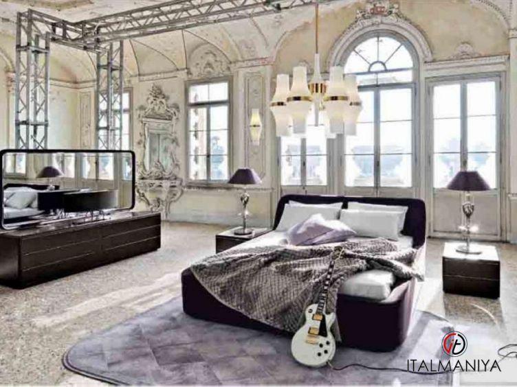 Фото 1 - Спальня Beyond фабрики Smania (производство Италия) в современном стиле из массива дерева