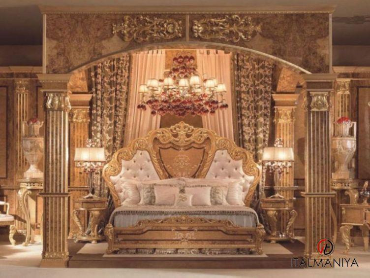 Фото 1 - Спальня Grand Palace фабрики Socci Anchise (производство Италия) в стиле барокко из массива дерева