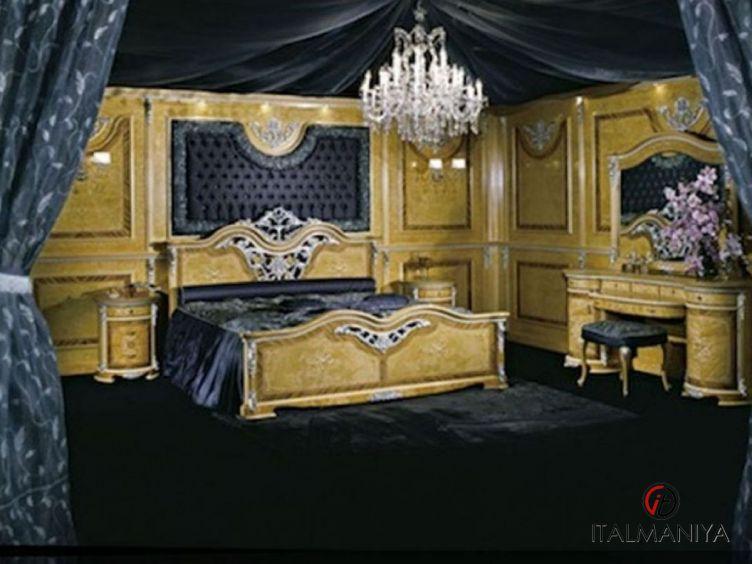 Фото 1 - Спальня Temptation фабрики Socci Anchise (производство Италия) в классическом стиле из массива дерева