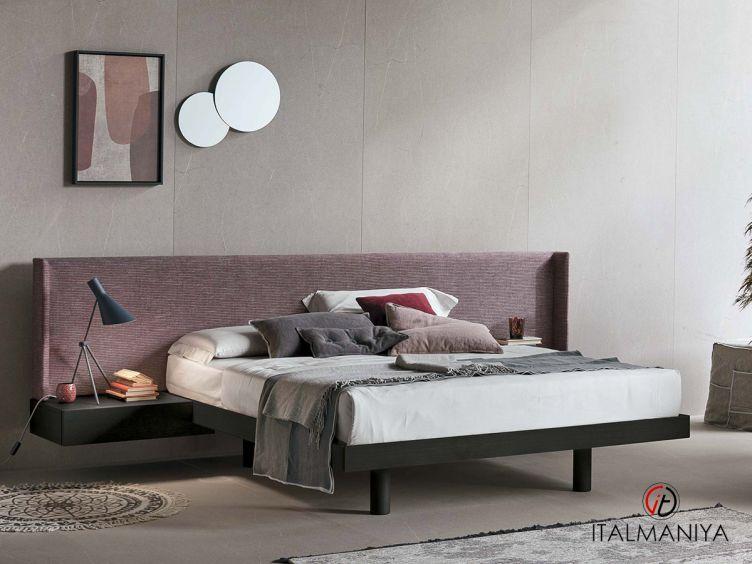 Фото 1 - Спальня Fusion фабрики Tomasella (производство Италия) в современном стиле из массива дерева