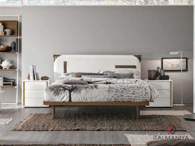 Фото 1 - Спальня Tasca ring 60 фабрики Tomasella (производство Италия) в современном стиле из массива дерева