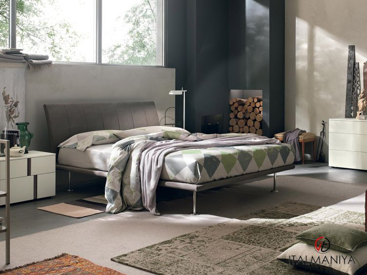 Фото 1 - Спальня Seven 101006 фабрики Tomasella (производство Италия) в современном стиле из массива дерева