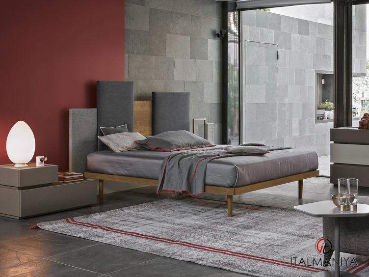 Фото 1 - Спальня Skyline фабрики Tomasella (производство Италия) в современном стиле из массива дерева