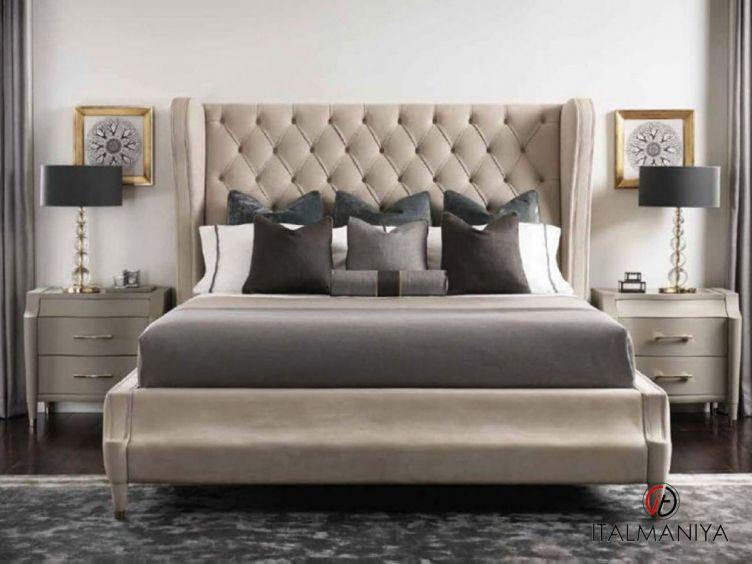 Фото 1 - Спальня Caprice фабрики Tosconova (производство Италия) в современном стиле из массива дерева
