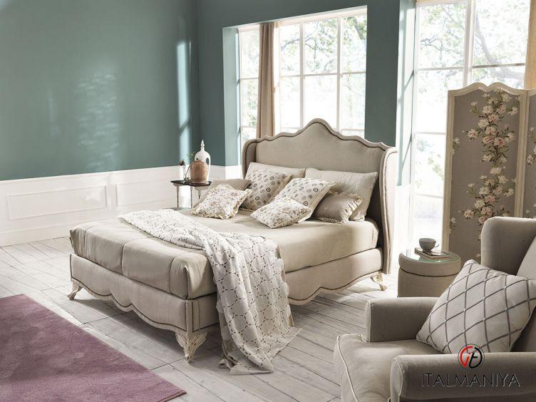 Фото 1 - Спальня Alloro фабрики Treci Salotti (производство Италия) в классическом стиле из массива дерева