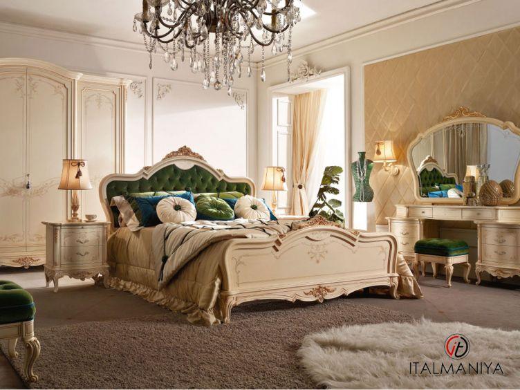 Фото 1 - Спальня Casa Principe фабрики Valderamobili (производство Италия) в классическом стиле из массива дерева