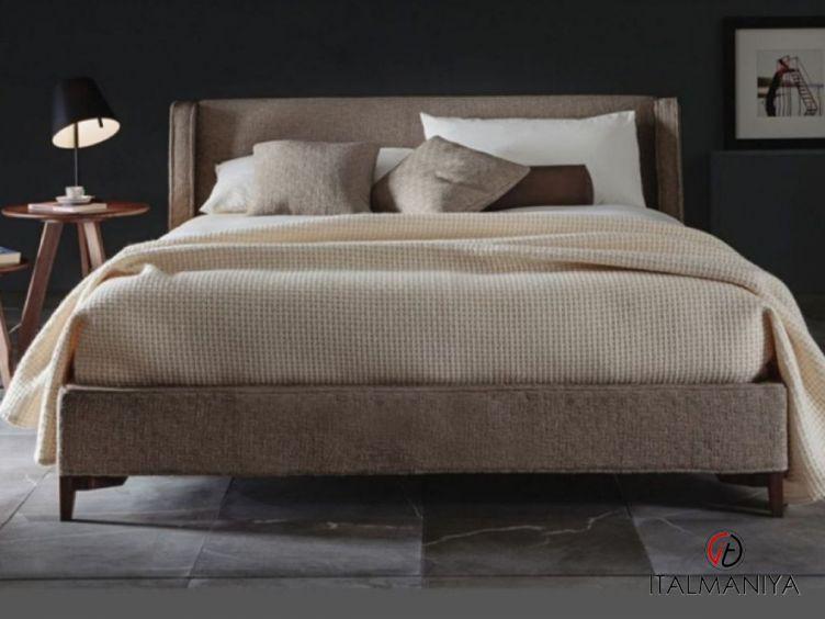 Фото 1 - Спальня Queen фабрики Vibieffe (производство Италия) в современном стиле из массива дерева