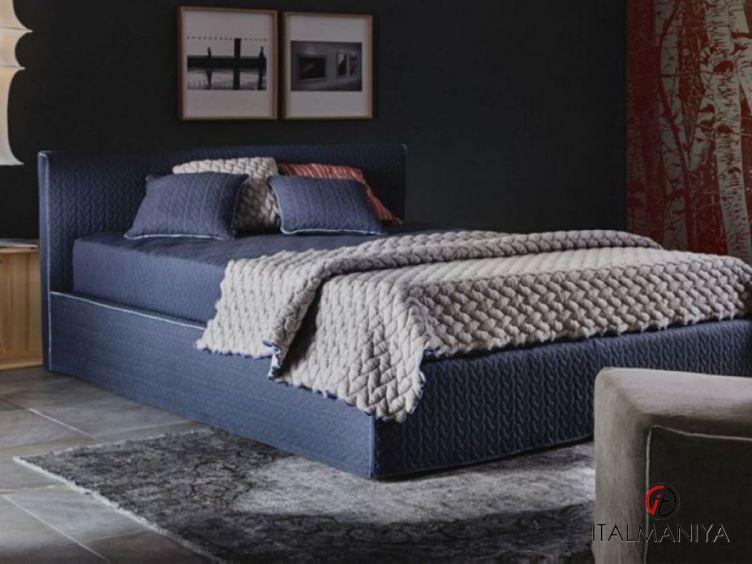 Фото 1 - Спальня Tangram фабрики Vibieffe (производство Италия) в современном стиле из массива дерева