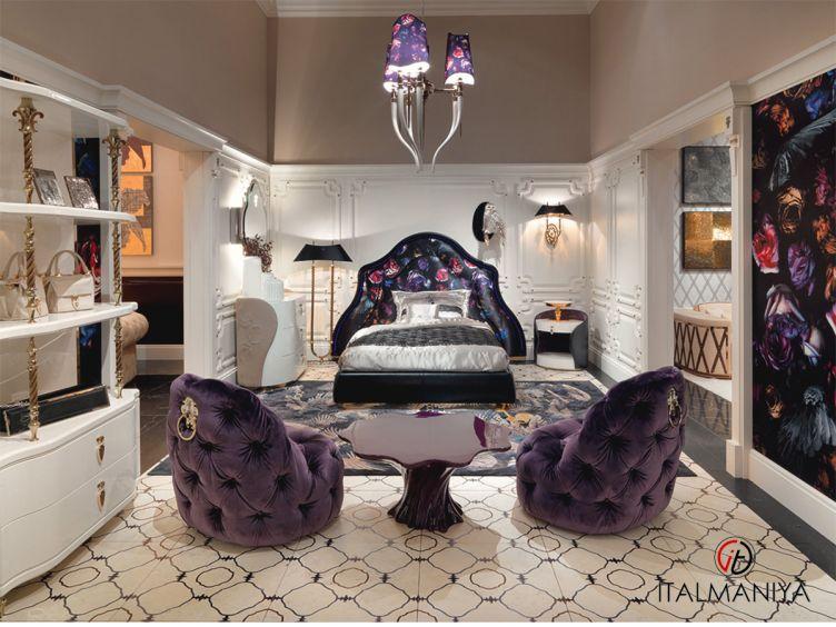 Фото 1 - Спальня Primrose фабрики Visionnaire (производство Италия) в современном стиле из массива дерева
