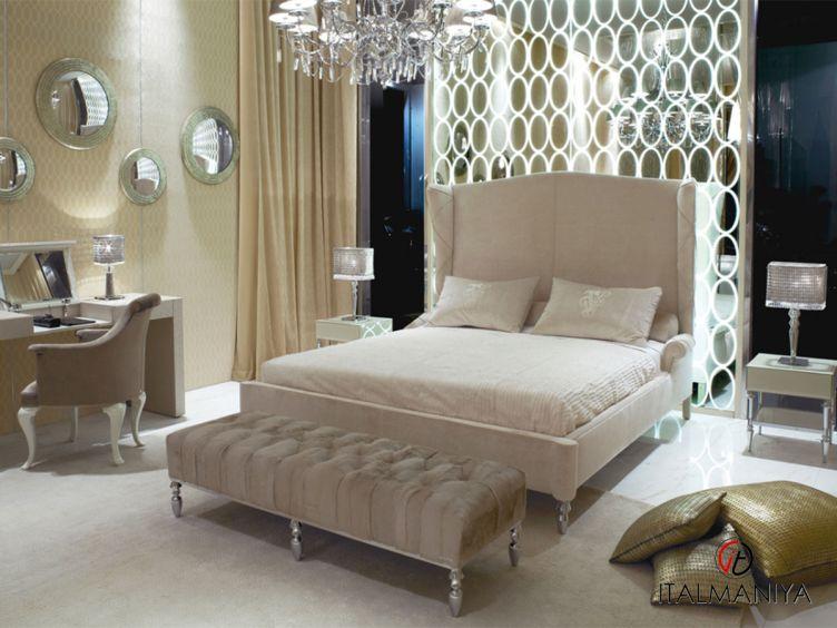 Фото 1 - Спальня Siegfrid фабрики Visionnaire (производство Италия) в стиле арт-деко из массива дерева
